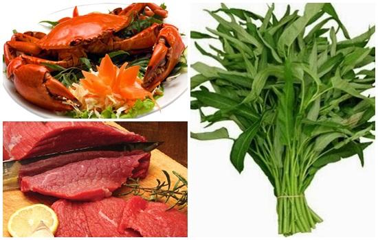 Những thực phẩm không nên dùng sau khi mới trị tàn nhang trên mặt xong