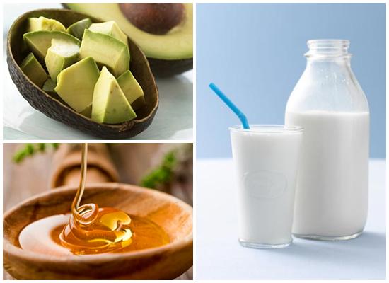 """Công thức điều trị tàn nhang """"rẻ tiền"""" từ bơ + mật ong + sữa tươi"""