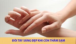 Tại sao áp dụng nhiều cách trị tàn nhang ở tay nhưng da vẫn thâm?