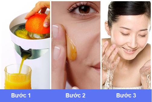 Cách điều trị tàn nhang tại nhà bằng cam