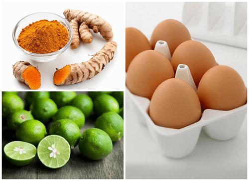 Cách trị tàn nhang bằng tinh bột nghệ và trứng hiệu quả nhất