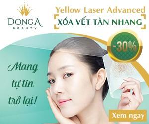 Giảm tới 30% chi phí trị tàn nhang Yellow laser – Advanced tháng khai trương