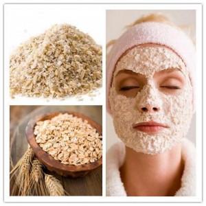 Làm đẹp da mặt bằng bột yến mạch cho da mụn và da dầu