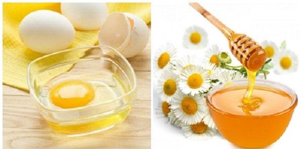 Cách trị nám tàn nhang tận gốc tại nhà bằng mật ong và lòng trắng trứng