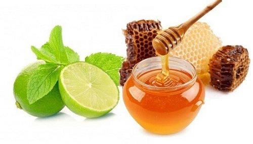 kem trị tàn nhang bằng chanh và mật ong cực tốt