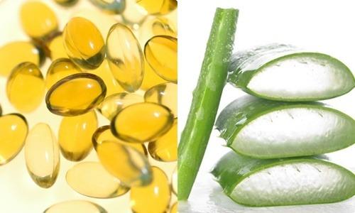 Mặt nạ nha đam và vitamin E trị tàn nhang và mụn hiệu quả