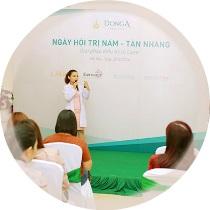 Hội thảo, chuyên đề trị tàn nhang được tổ chức thường niên tại TMV Đông Á