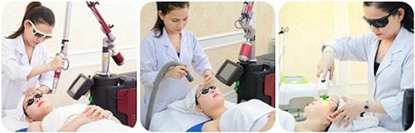 trị tàn nhang bằng laser