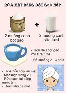 Chỉ với 2 bí kíp rửa mặt bằng bột gạo, da sẽ luôn sáng khỏe dù là U30