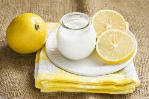 Điều trị tàn nhang bằng sữa chua và chanh